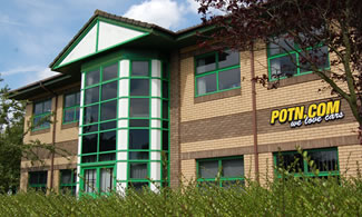 POTN.COM Head Office in Northampton